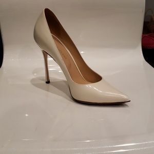 Sergio Rossi Bone Pointy Pump Shoes